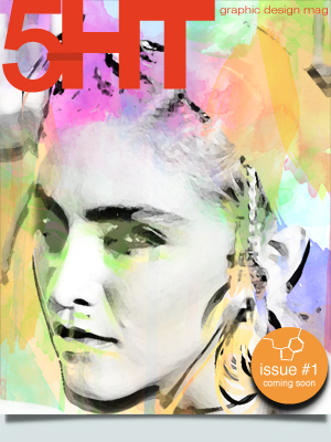 Cover 5HT Graphic Design Magazine