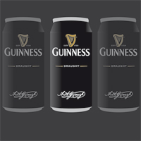 Handmade Vector GUINNESS adv_The GUINNESS word and associated logos are trade marks. ©Guinness & Co. 2010